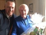 Walter Peyfuß ist 90 :: Präsident Klaus Richter gratuliert unserem Ehrenpräsidenten, 07.Dez. 2015