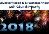 Silvesterfliegen & Silvesterspringen 2017 :: Einladung für Mitglieder: Jahreswechsel am Flugplatz