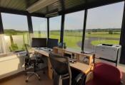 Renovierter Turm :: Rundum glasklare Sicht und neu lackierte Rahmen, Mai 2020