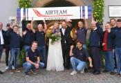 Hochzeit Paola und Phillip Winkelmayer :: 19.September 2020: Gratulation vom Airteam Fürstenfeld