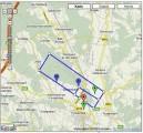 Anflugplan :: Platzrunde Motorflug/Segelflug und Fallschirmsprungbereich