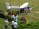 Besucher am Flugplatz Fürstenfeld :: Der erste Flug ist immer ein Erlebnis!