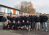 Sektion Fallschirm 2016 :: Das (fast vollständige) Team mit den Schlepppiloten, 5.Nov. 2016