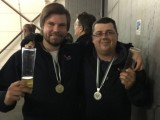 Speed Skydive 2017 :: Bronze für Florian Richter (links), Silber für Marco Bierbauer bei den Sterischen Meisterschaften am 28.Oktober in Punitz