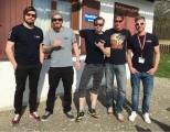 Fallschirmausbildung 2018 :: v.l.n.r.: Florian, Stephan, Matthias, Harald, Martin