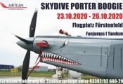 Skydive Porter Boogie 2020 :: Frech grinst die Pilatus Porter und freut sich schon auf viele unvergessliche Sprünge