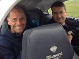 Korsika 2017 :: Besatzung in der OE-KRF: Gernot Sailer, Christian Schandor