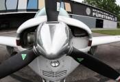 Beechcraft Bonanza :: Beech F-33 A OE-KRH Detailfoto Propeller