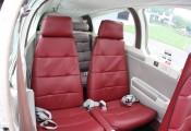 Beechcraft Bonanza :: Beech F-33 A OE-KRH Hintere Sitze
