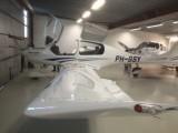 DA40 im Hangar in Schweden :: Optisch und flugtechnisch ein Leckerbissen