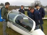 Segelflugschulung 2017 :: Die Schüler lernen die neue DG-1001 kennen