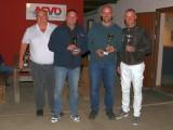 Ziellandewettbewerb 2017 :: v.l.n.r.: Sektionsleiter Werner Schnalzer, Peter Richter (3.), Phillip Winkelmayer (1.), Klaus Richter (2.)