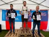 Juniorenstaatsmeisterschaft Segelflug 2020 :: v.l.n.r.: Daniel Lampel (2.), Lukas Kirchberger (1.), Benjamin Zoller (3.)