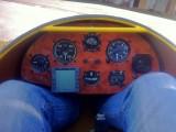 Ka8 OE-0743 :: Ka8 Cockpit in Wurzelholzoptik