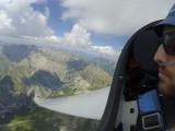 DG 1001 ueber den franzoesischen Alpen